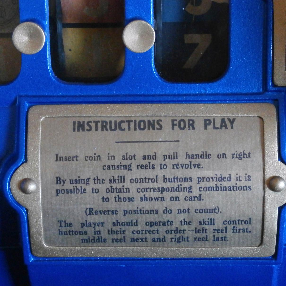 extraordinary instructions for play sign.JPG